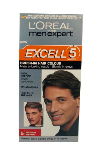 LOREAL MEN EXCELL5 NATURAL BROWN 5 10L112C
